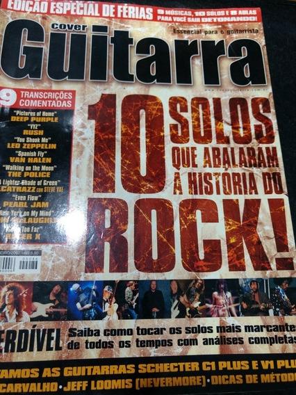 Revista Cover Guitarra 10 Solos Que Abalaram A História