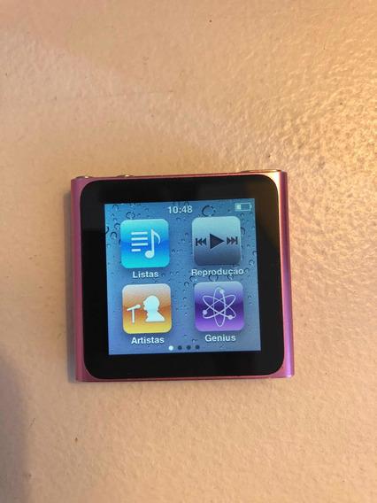 Apple iPod Nano 8gb 6th Gen. Rosa