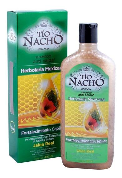Shampoo Tío Nacho Herbolaria Mexicana 415 Ml Genomma Lab