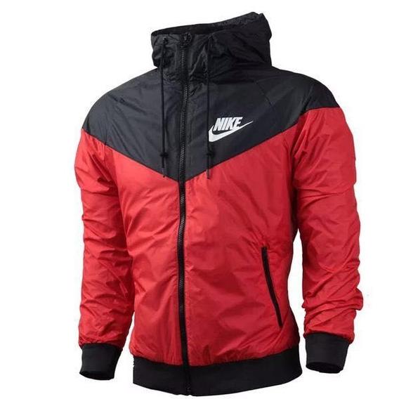 Blusa Jaqueta Corta Vento Nike Preta Masculina Windrunner