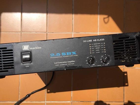 Amplificador Machine Sbx 2.5