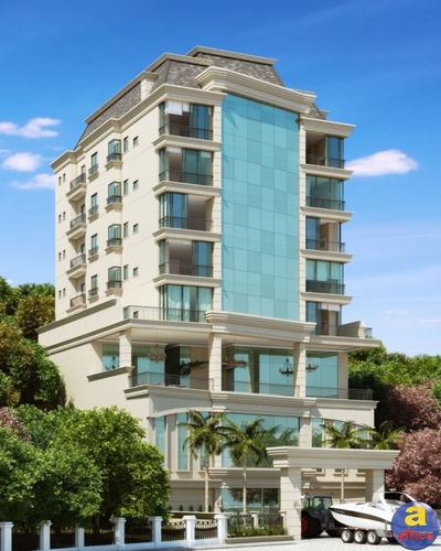 Imagem 1 de 10 de Apartamento 4 Suítes, 3 Vagas De Garagem No Canto Da Praia Em Itapema/sc - Imobiliária África - Ap00564 - 69825424