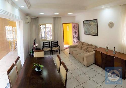 Casa Com 3 Dormitórios À Venda, 190 M² Por R$ 730.000,00 - Campo Grande - Santos/sp - Ca0774