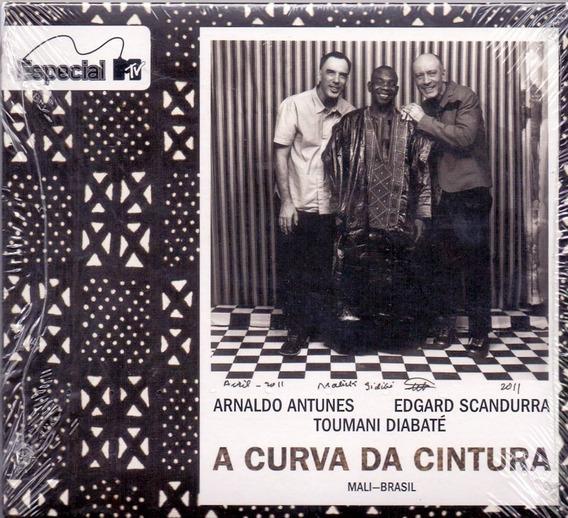 Cd Arnaldo Antunes - A Curva Da Cintura - Cd Tipo Digipack