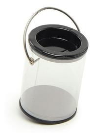 Mini Lata Tinta Preto C/6 Unid - Decorativo