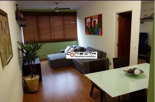 Imagem 1 de 30 de Apartamento Residencial À Venda, Chácara Da Barra, Campinas - Ap0074. - Ap0074