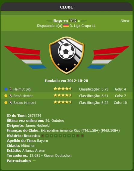 Trophy Manager - Jogo De Gerenciamento De Futebol