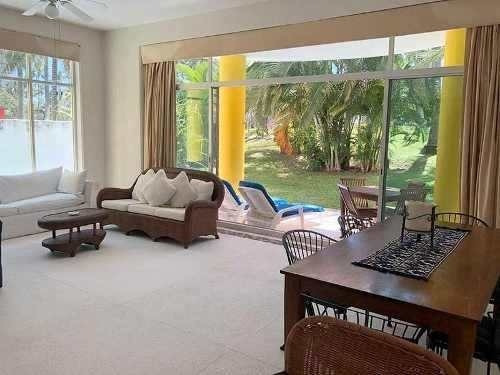 Cad Xcaret Villa 27 Alberca Privada, Vista Y Acceso Al Campo De Golf