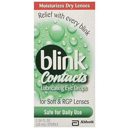 Amo Blink Contacts Lubricating Eye Drops, 2 Count