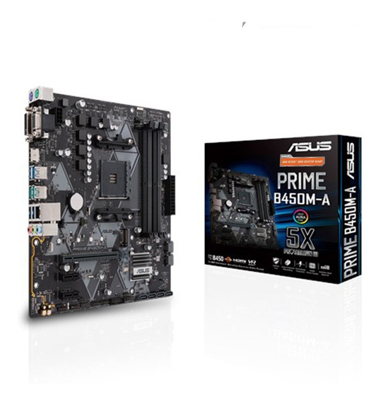 Motherboard Asus Prime B450m-a Am4 Ddr4 Hdmi B450