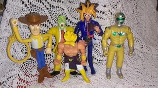 Muñecos Dragon Ball Mascara Yu Gi Oh Toys Story X Cada Uno