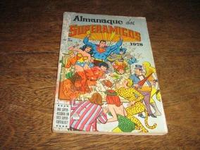 Almanaque Dos Superamigos 1978 Editora Ebal Com 84 Páginas
