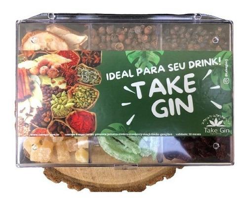 Imagem 1 de 7 de Kit Gin Tônica 6 Especiarias + Brinde Mexedor Inox Envio 24h