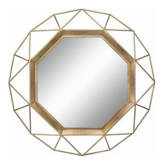 Stonebriar Espejo De Pared Decorativo De Oro Antiguo De 2