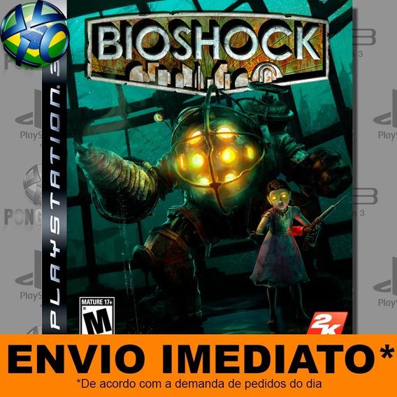 Jogo Bioshock Ps3 Digital Psn Envio Imediato