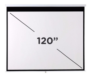 Pantalla Para Proyector 120 Pulgadas Para Colgar Techo Pared - Envio Gratis