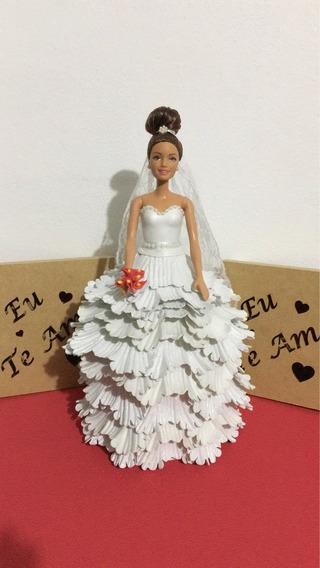 Boneca Barbie Noiva Em Eva