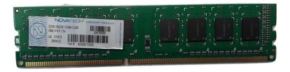 Memoria Ddr3 Novatech 2gb 1333mhz Pc3-10600 8 Chips 11
