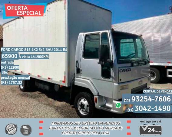 Ford Cargo 815 2011 Prata