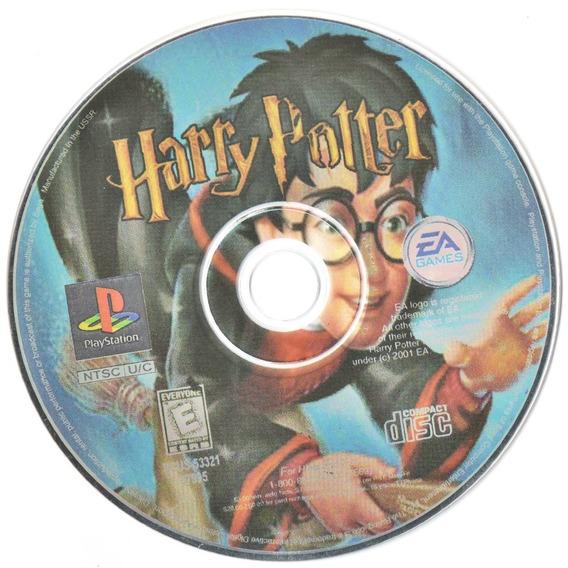 Ps1 Harry Potter Midia Prensada