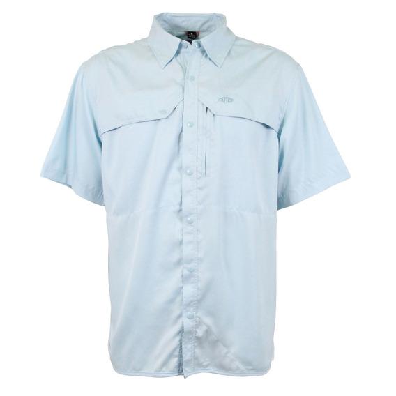 M45103-skyh Camisa Mga Cta Ventilación- Azul Cielo - Aftco