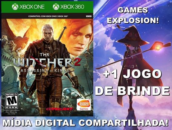 The Witcher 2 Xbox 360/ One +1 Jogo - Mídia Digital