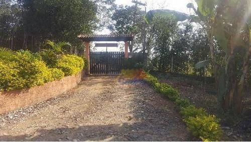Chácara Com 2 Dormitórios À Venda, 21000 M² Por R$ 550.000,00 - Biritiba Ussu - Mogi Das Cruzes/sp - Ch0020
