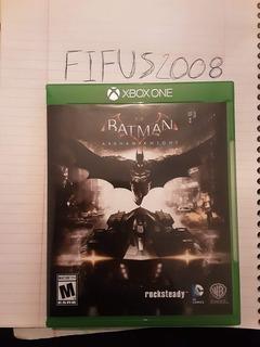 Batman Arkham Knight. Xbox One, Esta En Español.