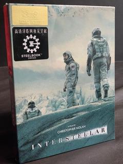 Interstellar Steelbook Gold Label #limited Edition Movies