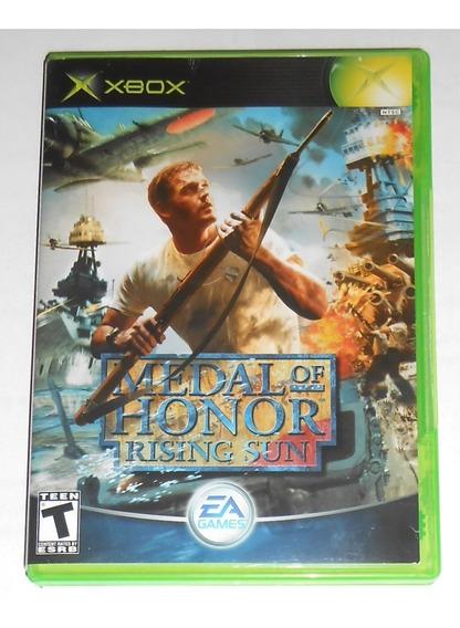 Medal Of Honor Rising Sun Original Completo Xbox Classico