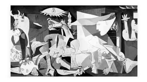 Imagen 1 de 2 de Cuadro Decorativo Guernica De Picasso Marca Decoholic