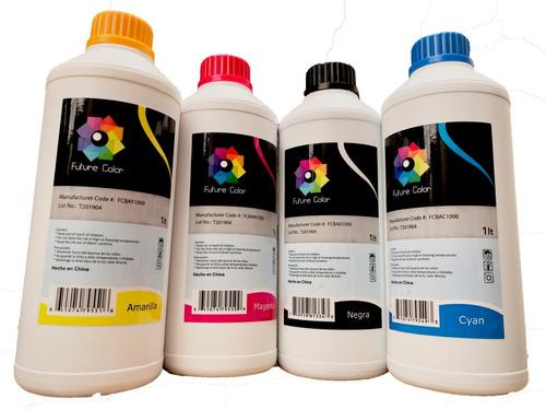 Imagen 1 de 5 de 4 Tinta Litro Uso  Dye Epson  Hp Brother Canon 1 Por Color