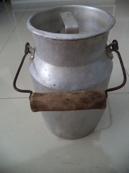 Antigo Tarro De Leite/leiteira 5 Litros/lata/decoração Antig