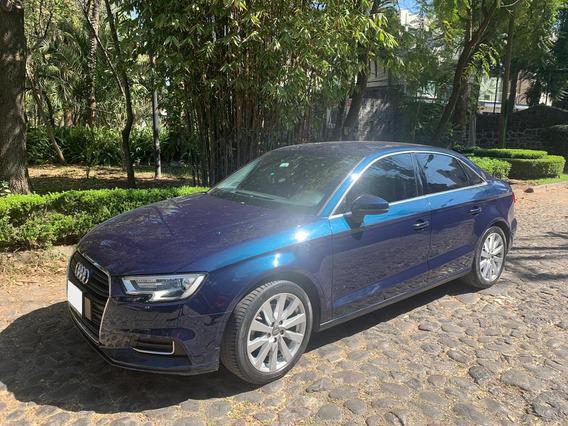 Audi A3 2017 Azul Perfecto Estado, Unico Dueño