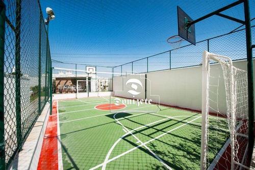 Imagem 1 de 27 de Apartamento Com 2 Dormitórios À Venda, 72 M² Por R$ 685.800,00 - Campestre - Santo André/sp - Ap17376