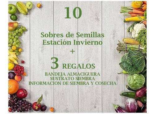 Imagen 1 de 8 de Kit 200 Semillas Organicas + Almaciguera + Sustrato + Manual