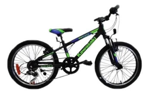 Bicicleta Rodado 20 Aluminio 7 Velocidades Mountain Bike