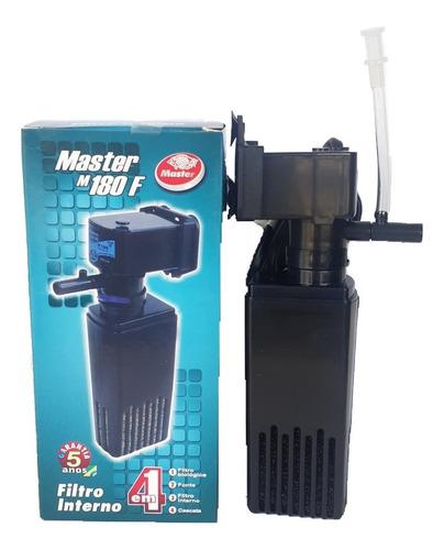 Filtro Interno Para Aquário 180 L/h Master Oxigenio