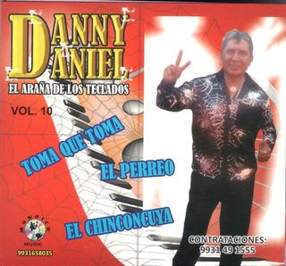 Danny Daniel El Araña De Los Teclados- Vol. 10.