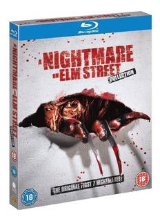 Blu Ray Nightmare On Elm Street Pesadilla 7 Films Box
