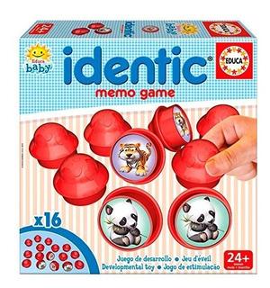 Educa Baby Identic Memo Game 18021 Envio Full