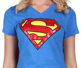 2 Playeras Super Man Y Supergirl, Niños Y Adultos Con Envio