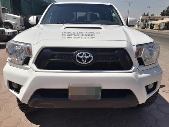 Toyota Takoma 2013 Trd 4x2 Dobcab Tela Eng $63.600