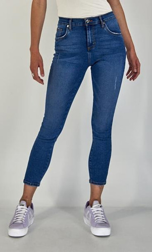 Jeans Casual Lee Mujer Cintura Extra Alta R40
