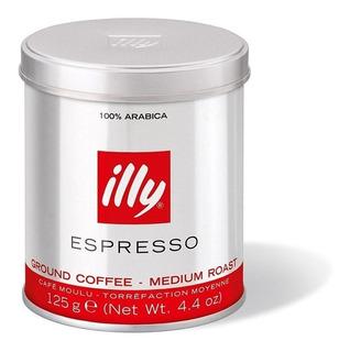 Cafe Illy Molido Espresso 125 Italy Espreso Italiano Tostado
