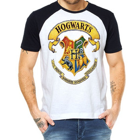 Camiseta Raglan Harry Potter - Hogwarts