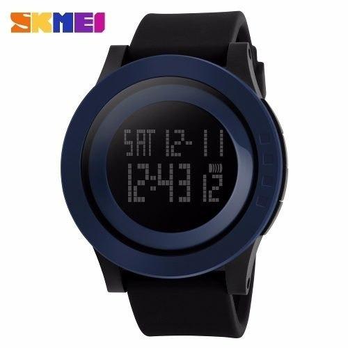 Relógio Masculino Sport Digital Azul Wr50m Skmei 1142