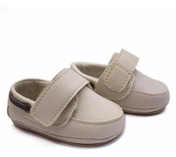 Sapato Tênis Bebê Kids Masculino Baby Mocassim Recém-nas