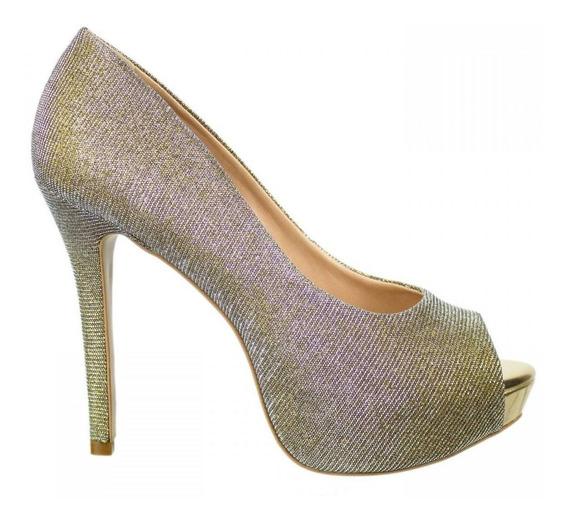Sapato Feminino Cristófoli Peep Toe Black Friday