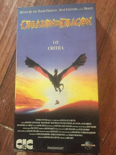 Vhs Corazón De Dragón Original